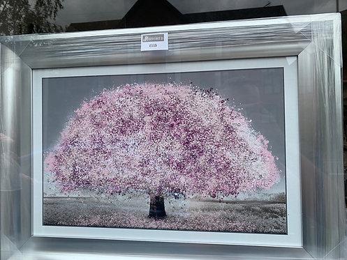 Blush Blossom Tree 75x55cm