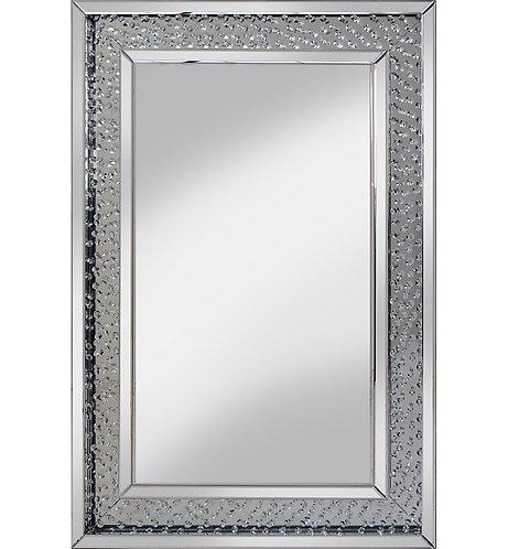 Floating Crystal Mirror 90x60cm