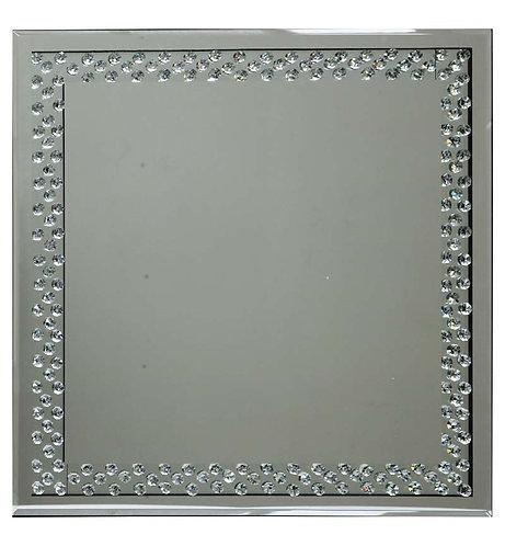 Floating Crystal Mirror 60x60cm