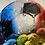 Thumbnail: Football World on Chrome Step Frame 85x85cm