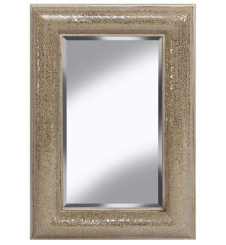 Champagne Bow Mosaic Mirror 120x80cm