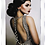 Thumbnail: Lady in backless dress on Mirrored Frame