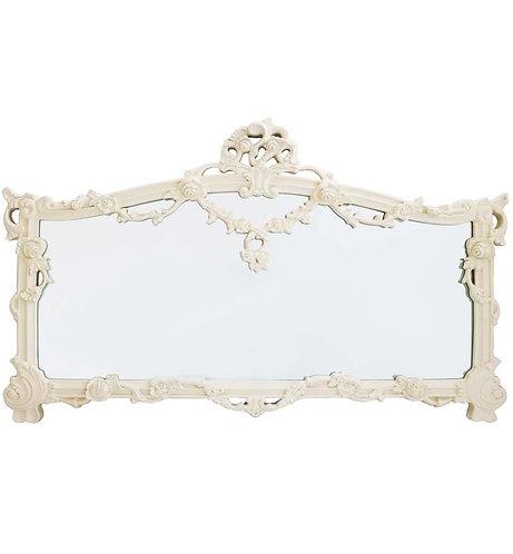 Cream Chateau Mirror 140x91cm