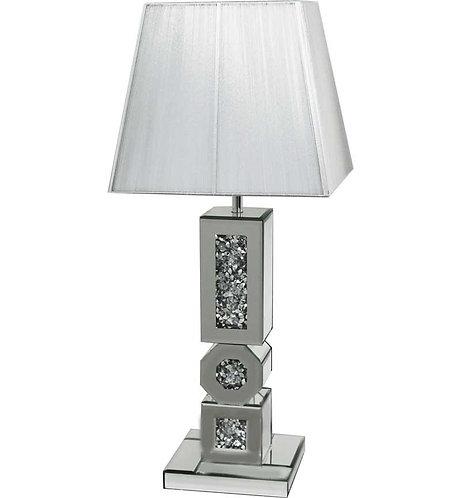 Crushed Diamond Octagonal Lamp