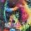 Thumbnail: Great Ape on Chrome Step Frame 85x85cm