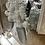 Thumbnail: 3D Champagne Flutes Mirror on Chrome Step Frame 75x75cm