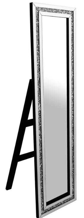 Crushed Diamond Cheval Mirror 150x40cm