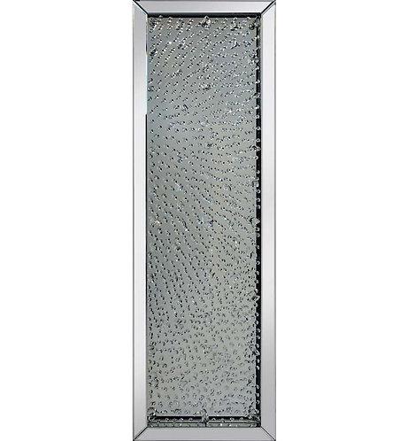 Floating Crystal Mirror 160x50cm