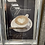 Thumbnail: Cappuccino on Chrome Scoop Frame 75x55cm