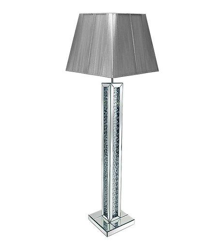 Floating Crystal Floor Lamp