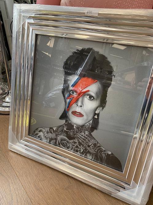 Bowie Tattoos 55x55cm