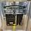 Thumbnail: Louis Vuitton Shop Front Mirror on Chrome Scoop Frame 75x55cm