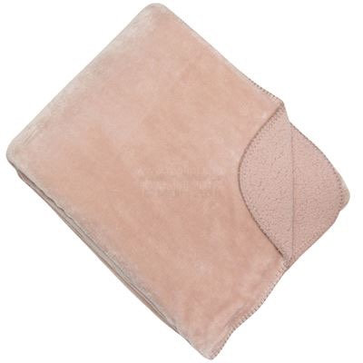 Light Pink Cosy Throw