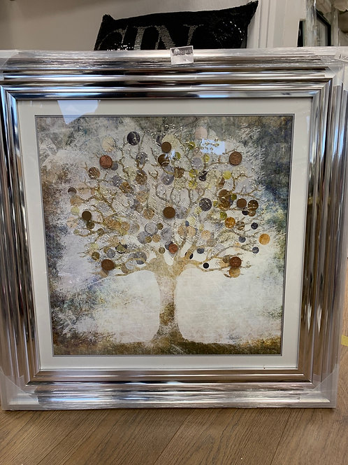 Copper Money Tree 75x75cm