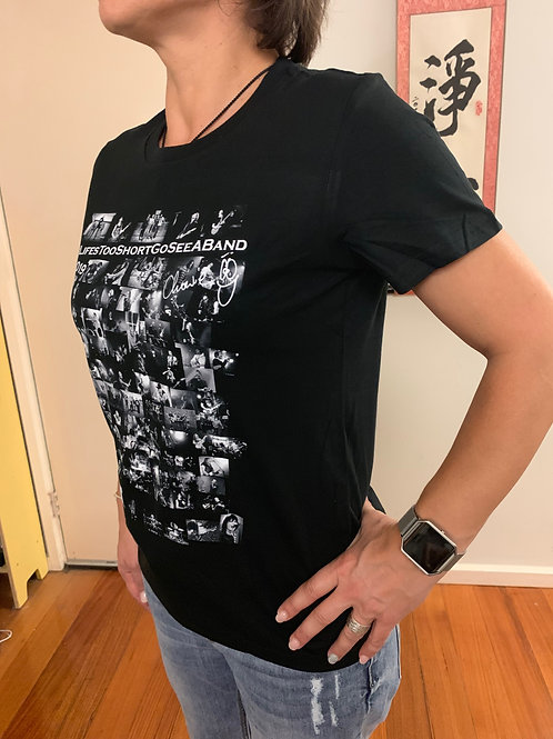 2019 LifesTooShortGoSeeABand LADIES Tshirt