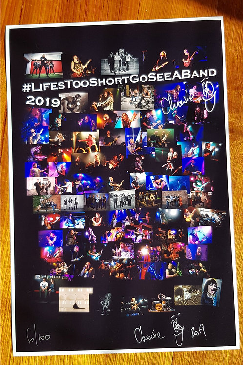 Limited Edition 2019 #LTSGSAB Photo Poster