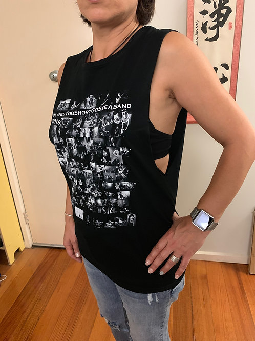 2019 LifesTooShortGoSeeABand Ladies Tank