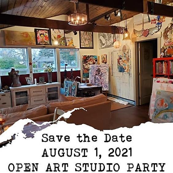 OPEN ART STUDIO PARTY