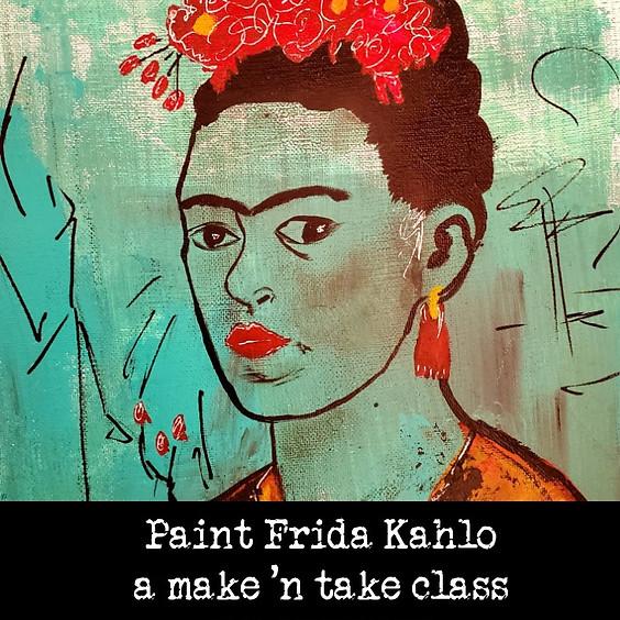 Paint Frida Kahlo (1)