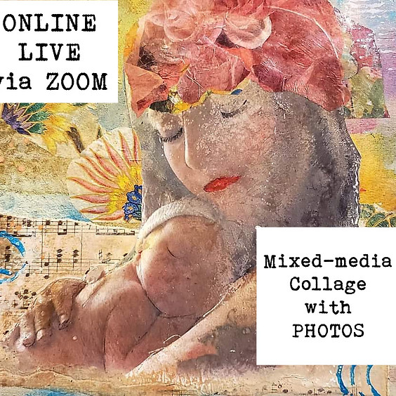 ONLINE Mixed-media Collage with Photos