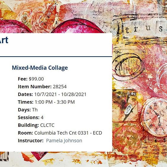Mixed-media Collage @ Clark Community College