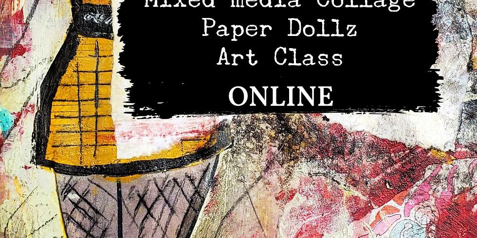 Paper Dollz ONLINE (registration through Vancouver Art Space)