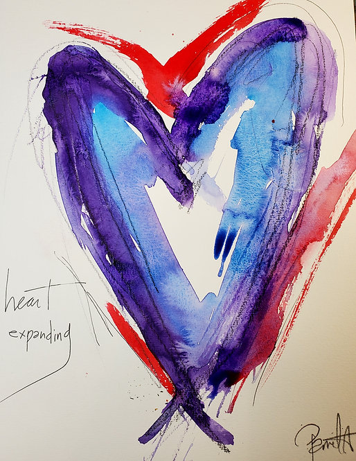 Heart Expanding LIMITED EDITION PRINT