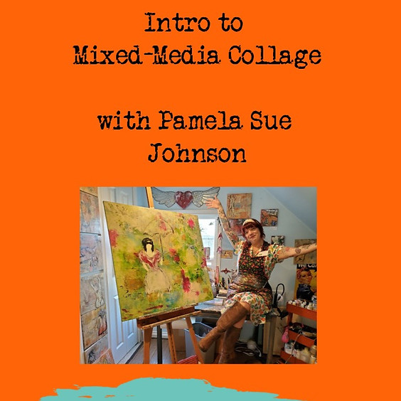 Intro to Mixed-media Collage @Vancouver Art Space