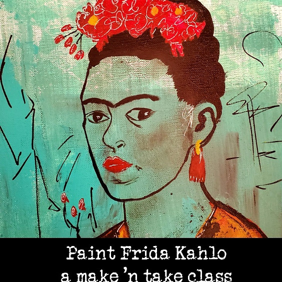 Paint Frida Kahlo