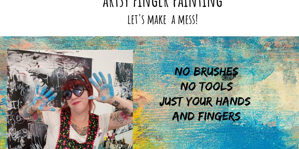 Artsy Finger Painting
