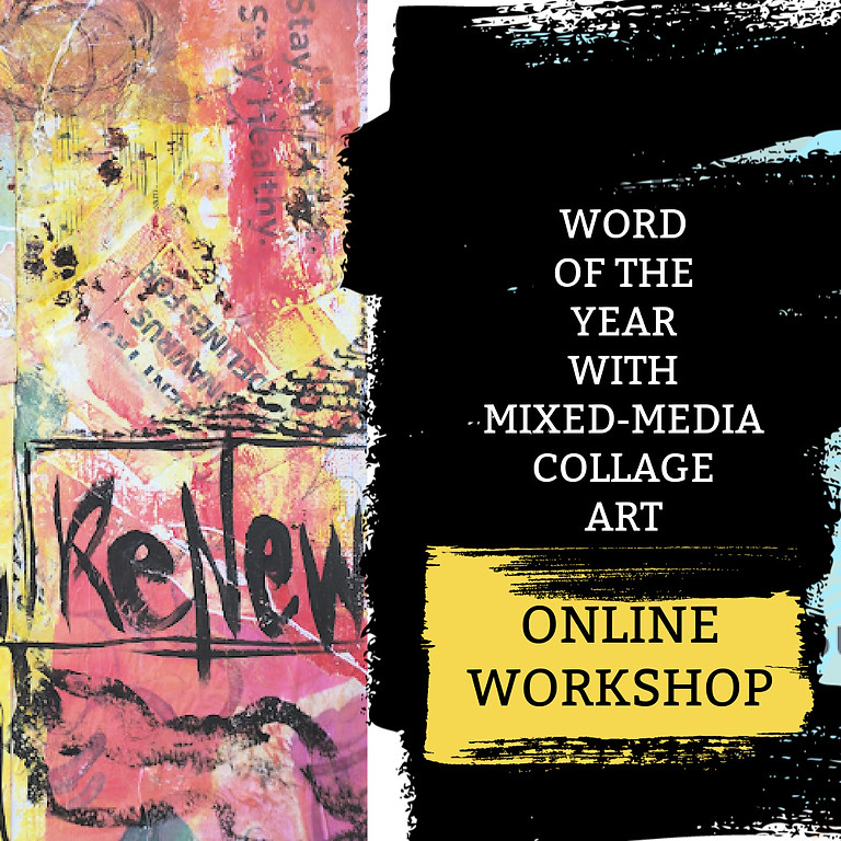 ONLINE Word of the Year w/ Mixed-media Collage