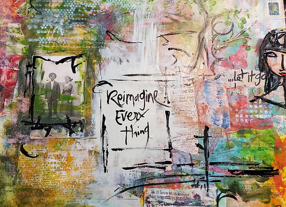 Reimagine Everything 16x20