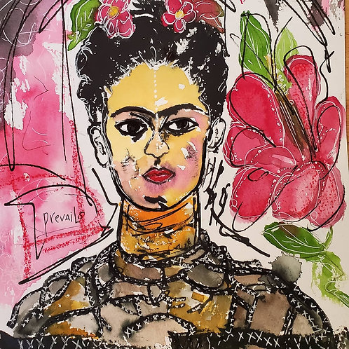 Frida Prevails LIMITED EDITION PRINT