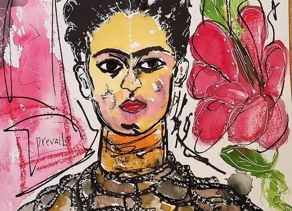 Frida Prevails PRINT