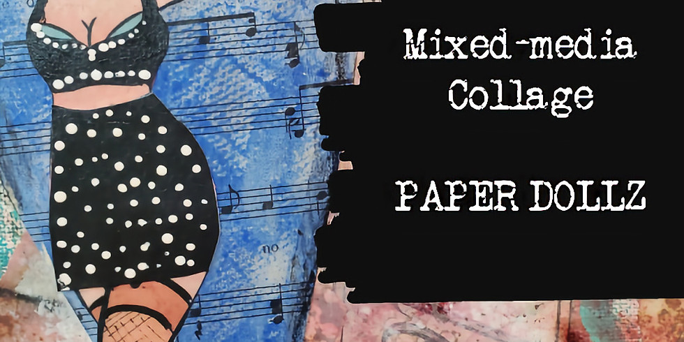 Mixed-media Collage Paper Dollz
