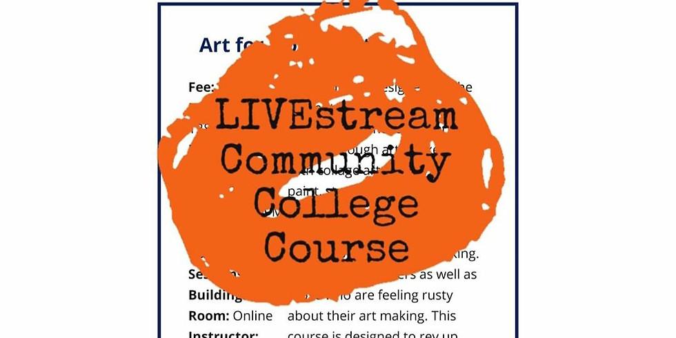 Art for Non-Artists @ ONLINE via Clark Community College