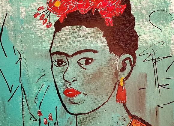 PRINT of Blue Frida