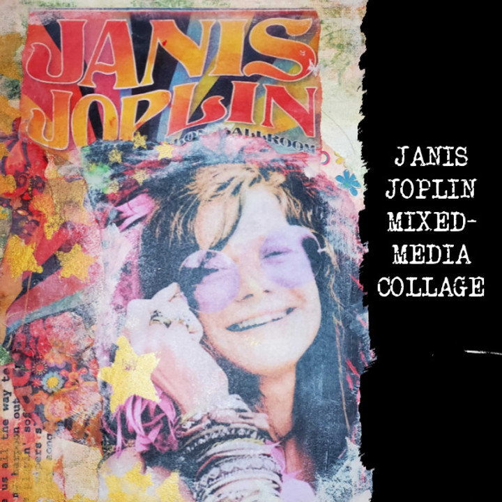 Janis Joplin Mixed-media Collage Workshop