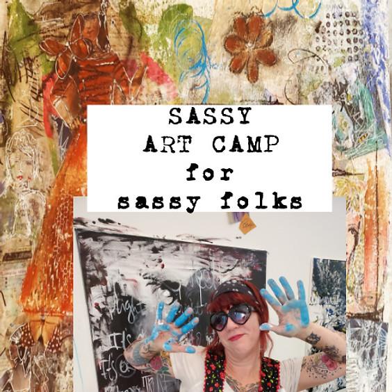 SASSY ART CAMP for Sassy Folks