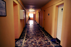 Коридор этажа Общежития №2 ПГУАС