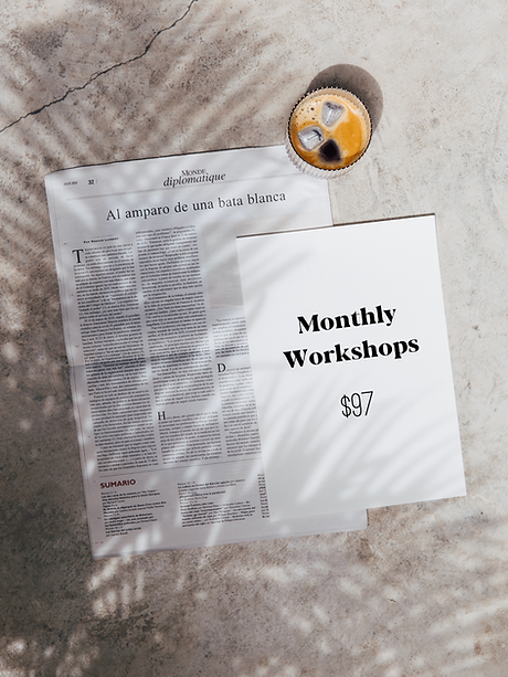 Natasha Zoryk_Monthly Workshops