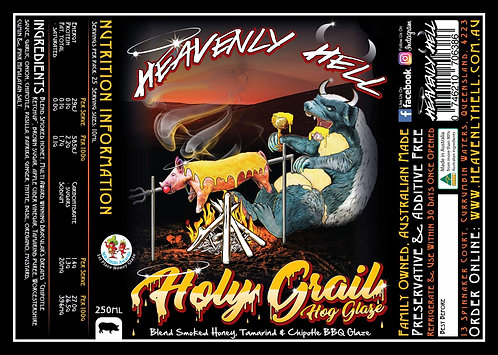 HOLY GRAIL 'HOG GLAZE' X HEAVENLY HELL X BLEND COLAB