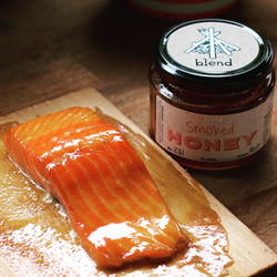 Cedar Planked Salmon and Blend...
