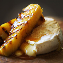 Woombye Brie, pineapple and blend
