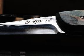 le 1920 couteau pliant artisanal