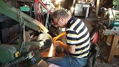 Coutelier atelier sur backstand