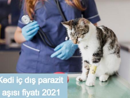 Kedi iç dış parazit aşısı fiyatı 2021