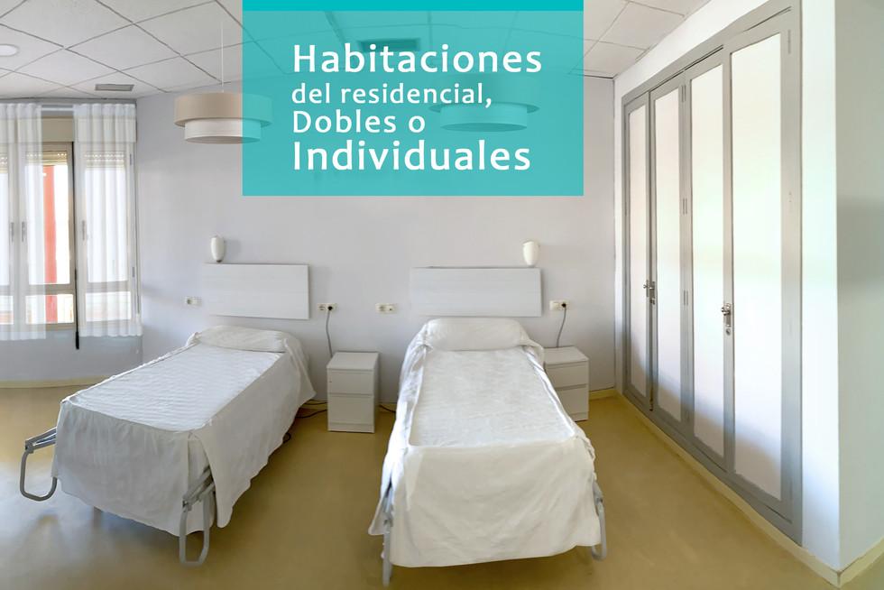 1.Habitaciones en Fundación Elder.