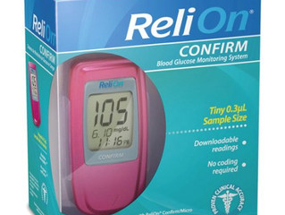 #Walmart and #ReliOn blood glucose monitoring.