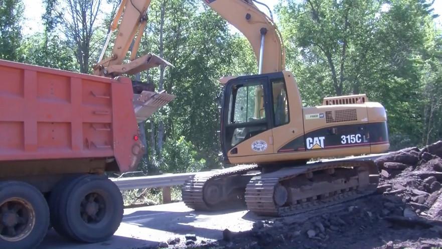 Roads Open, Supplies arrive in Bad River
